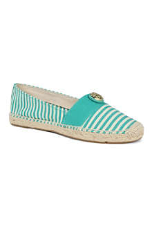 TORY BURCH Beacher stripe espadrilles