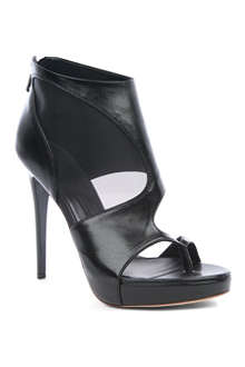 MCQ ALEXANDER MCQUEEN Sheer block ankle boot
