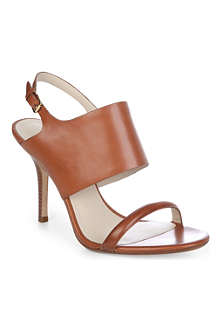 KORS MICHAEL KORS Hutton leather sandals