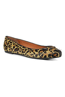 MARC BY MARC JACOBS Mouse ponyskin pumps