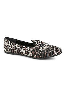 MARC BY MARC JACOBS Friends of Mine calf hair loafers