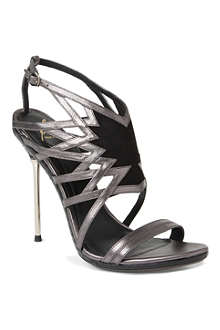 B BY BRIAN ATWOOD Marseille metallic leather sandals
