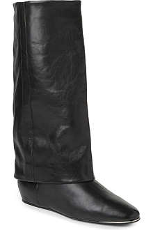 CHIE MIHARA Artista leather riding boots
