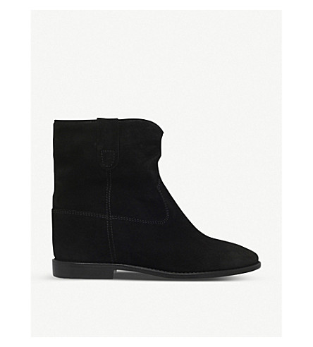 ISABEL MARANT Crisi suede ankle boots (Black
