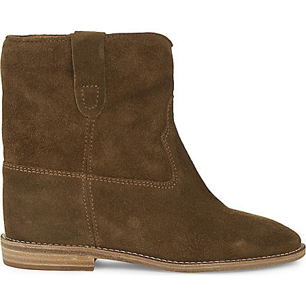 ISABEL MARANT Crisi suede ankle boots (Brown
