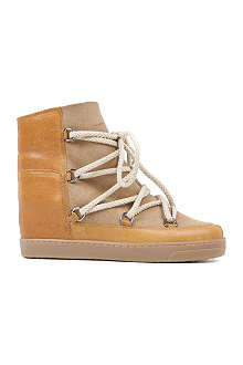 ISABEL MARANT Nowles suede and leather boots