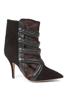 ISABEL MARANT Tacy leather ankle boots