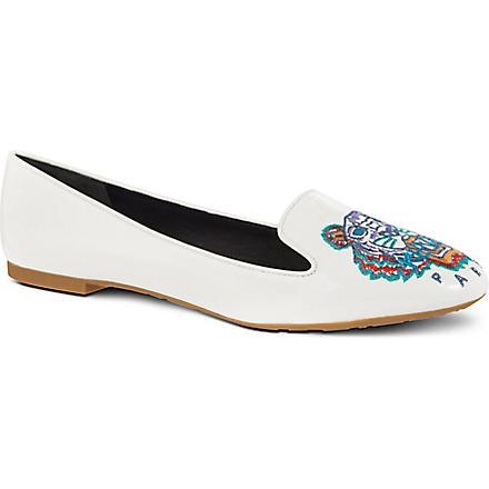 KENZO Brenda pumps (White