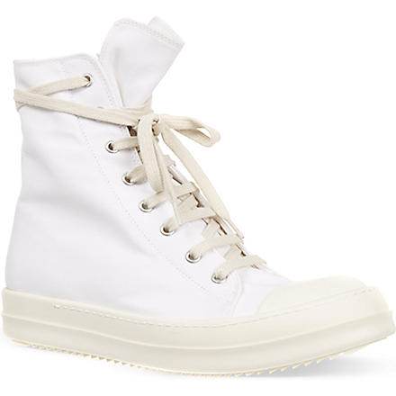 DRKSHDW Michelle hi top trainers (White