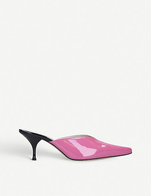 KALDA 阿尔巴专利皮革穆勒鞋