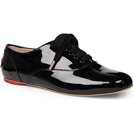 HOGAN KATIE GRAND COLLECTION Lace-up brogues (Black