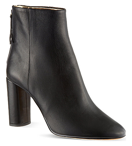 ISABEL MARANT Agora leather ankle boots (Black