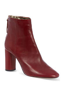 ISABEL MARANT Agora leather ankle boots