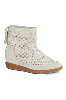 ISABEL MARANT Beslay perforated suede boots