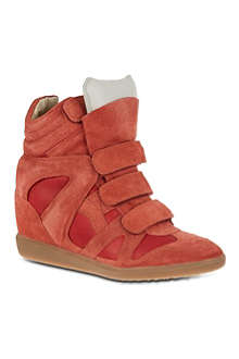ISABEL MARANT Burt suede high tops