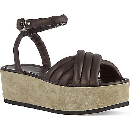 ISABEL MARANT Hayley chunky sandals (Black