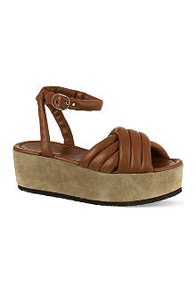 ISABEL MARANT Hayley leather sandals