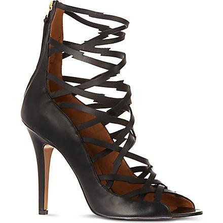 ISABEL MARANT Paw sandals (Black
