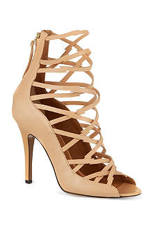 ISABEL MARANT Paw leather sandals
