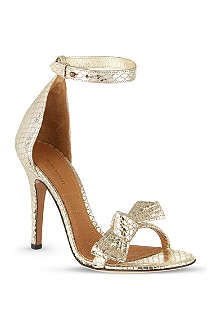 ISABEL MARANT Play metallic sandals
