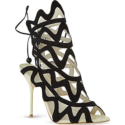 SOPHIA WEBSTER Mila sandals (Black