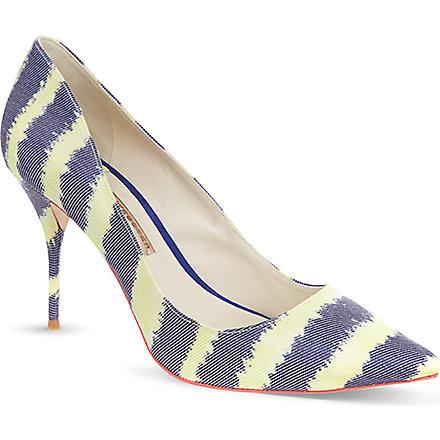 SOPHIA WEBSTER Lola leopard court shoes (Dk.brn com