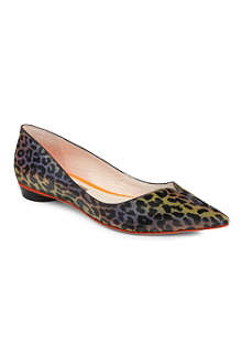 SOPHIA WEBSTER Loca leopard-print pumps