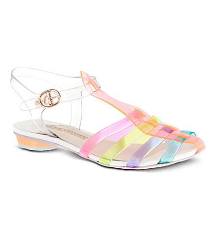 SOPHIA WEBSTER Violeta fluorescent sandals