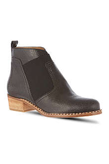 MARC BY MARC JACOBS Cracked leather ankle boots
