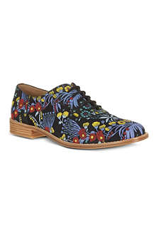 MARC BY MARC JACOBS Floral print Oxford brogues