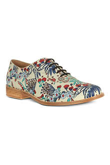 MARC BY MARC JACOBS Oxford floral print brogues