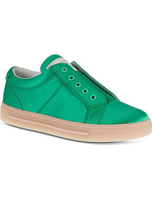 MARC BY MARC JACOBS Satin flyer trainers