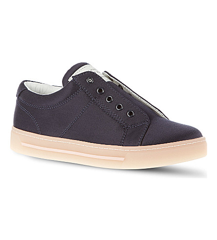 MARC BY MARC JACOBS Satin trainers (Navy