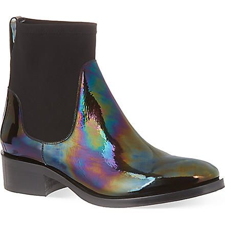 ACNE Comet Oil Chelsea boots (Black