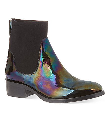 ACNE STUDIOS Comet Oil Chelsea boots (Black