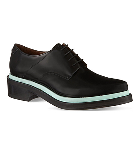 ACNE Lark Oxford shoes (Blk/other