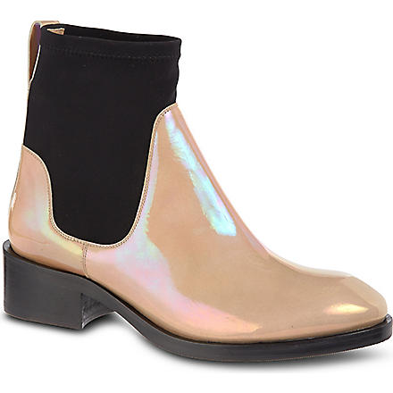 ACNE Comet Oil Chelsea boots (Taupe
