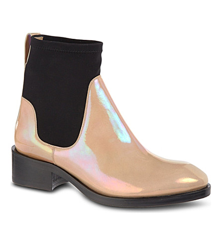 ACNE STUDIOS Comet Oil Chelsea boots (Taupe