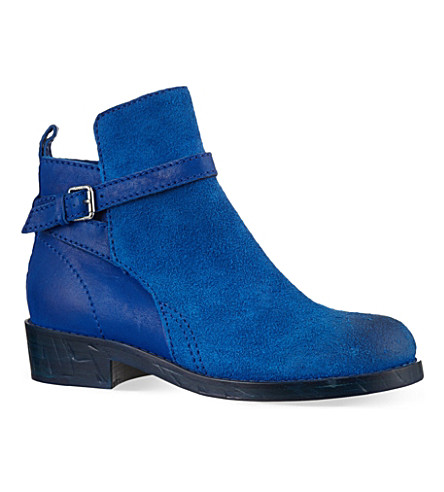 ACNE Clover ankle boots (Blue
