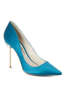 SOPHIA WEBSTER Coco satin court shoes