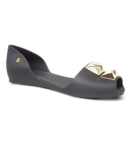 MELISSA Fresh bloom sandals (Black