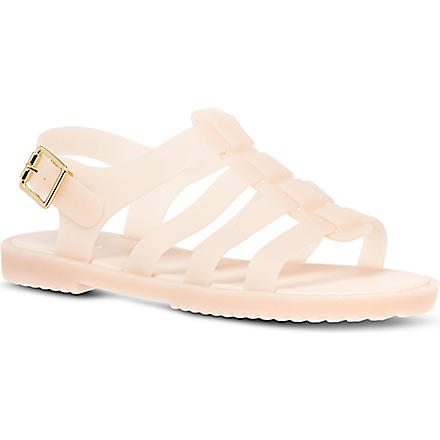 MELISSA Flox rubber sandals (Nude