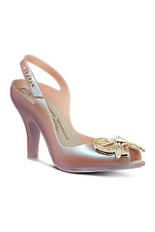 MELISSA + VIVIENNE WESTWOOD Lady Dragon bow court shoes