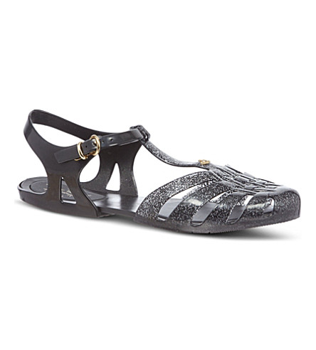 CARVELA Aranha rubber sandals (Black