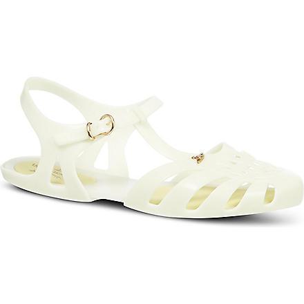MELISSA + VIVIENNE WESTWOOD Aranha rubber sandals (Beige