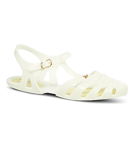 CARVELA Aranha rubber sandals (Beige