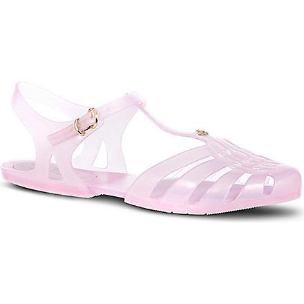 MELISSA + VIVIENNE WESTWOOD Aranha rubber sandals (Pink
