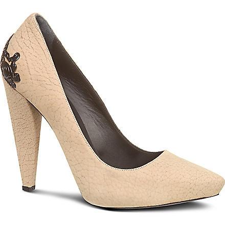 MCQ ALEXANDER MCQUEEN Lex heeled pumps (Grey