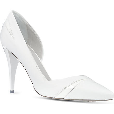 MCQ ALEXANDER MCQUEEN Lex high heeled pump (White