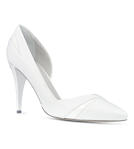 MCQ Lex high heeled pump (White